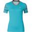 Odlo Morzine Shirt S/S Women blue radiance AOP